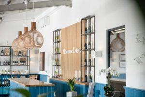 Tasting room at Albourne Estate Vineyard