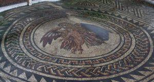 Bignor Roman Villa mosaic floor