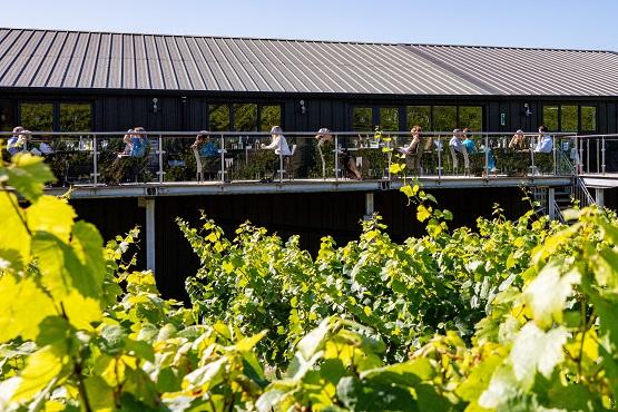 Bolney Wine Estate terrace