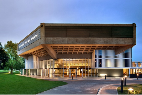 The outside of Chichester Festival Theatre