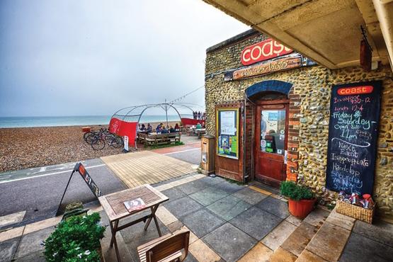 Outside of Coast Cafe des Artistes