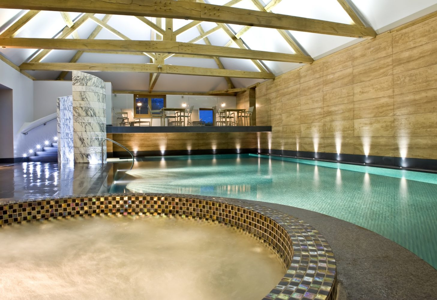 Indoor pool at Park House Spa