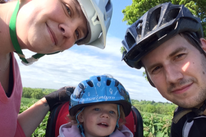 Family ride around Chichester