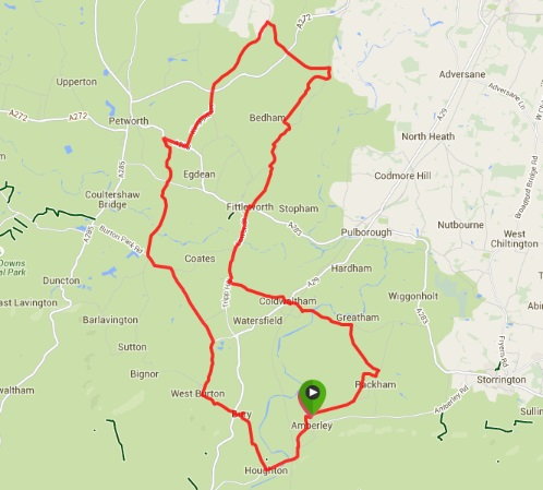 Map image of Fittleworth Loop