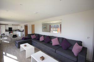 Sofa at Flinstone Cottage