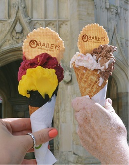 Baileys ice cream