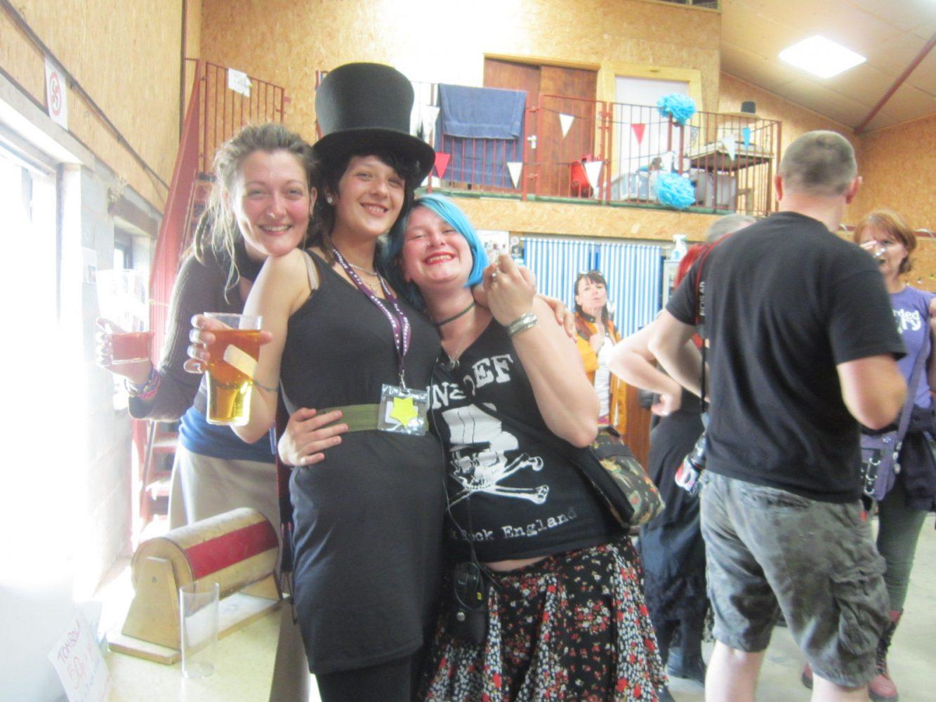People at Glastonwick Festival