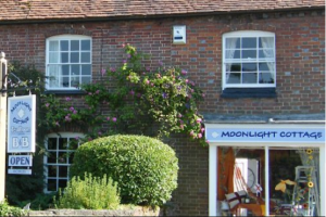 The outside of Moonlight Cottage and the Malthouse