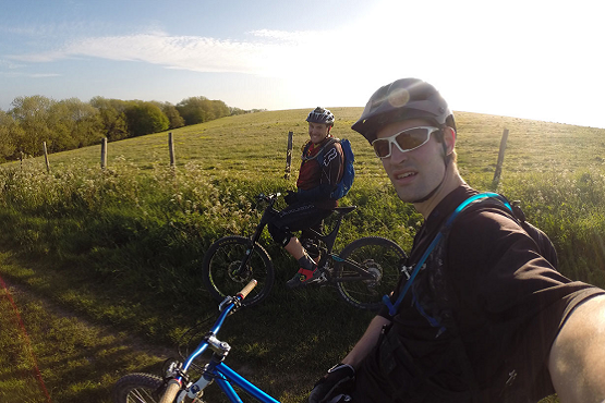 Mountain bike thrills in West Sussex