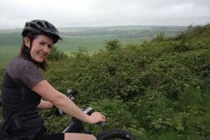 Mountain biking in the beautiful SDNP