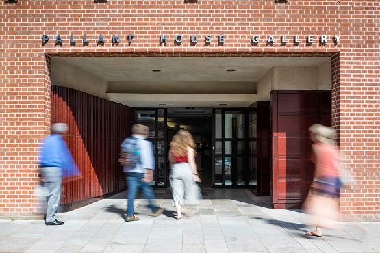 The entrance of Pallant House Gallery
