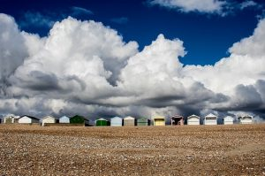Shoreham secluded swimming spots and beach huts