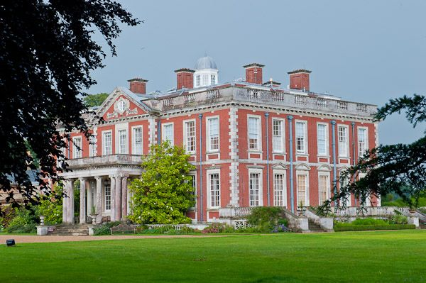 Stansted House red brick building