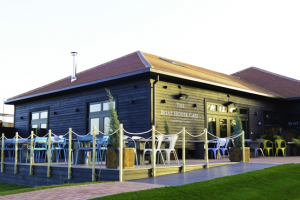 The outside of The Boat House Cafe