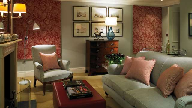 Bedroom suite at Goodwood Hotel