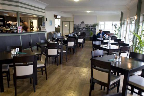 The Hummingbird Restaurant inside view