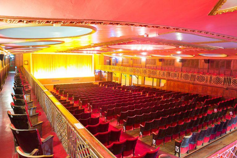 Inside of Dome Cinema, Worthing