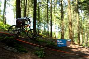 Roegate Downhill bike track