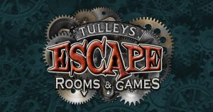 Tulleys escape rooms and games logo