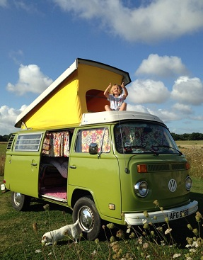 Caravaning in West Sussex