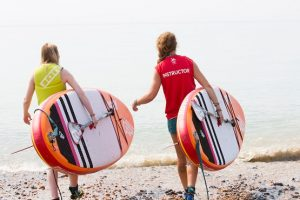 Get active with paddleboarding