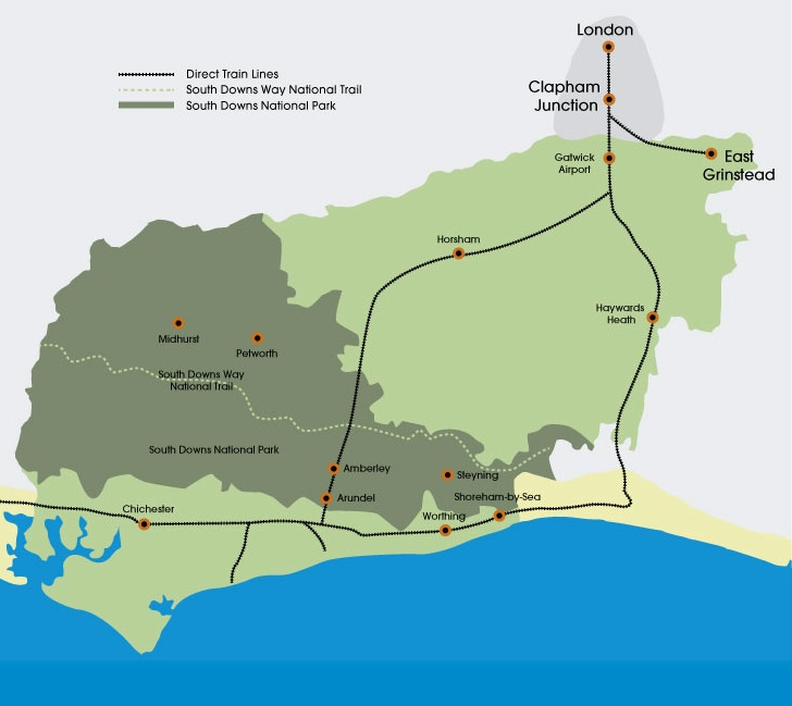 Travel information West Sussex
