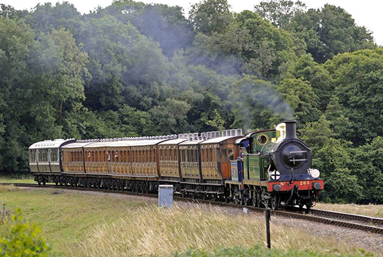 Steam through the ages at Bluebell Railway