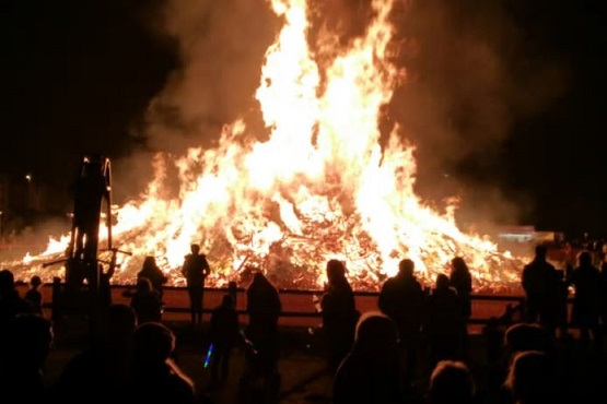 Littlehampton bonfire