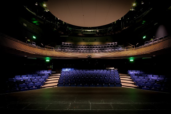 Chequer Mead Theatre stage