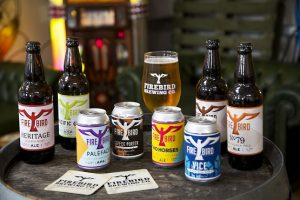 Firebird Brewing Company's beers and ales