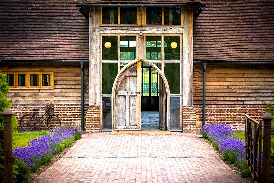 Kingscote Estate entrance door