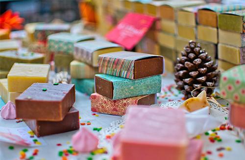Festive soap making workshop