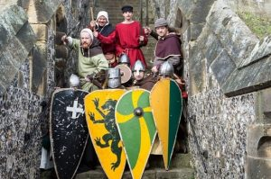 Norman Knights Tournament at Arundel Castle