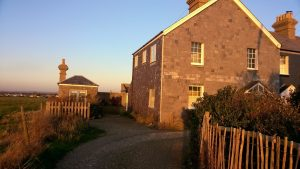 The outside of Pirates Point self catering accommodation in Sussex
