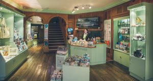 The inside of the Horsham visitor information centre
