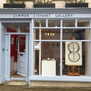 The front of Zimmer Stewart Gallery