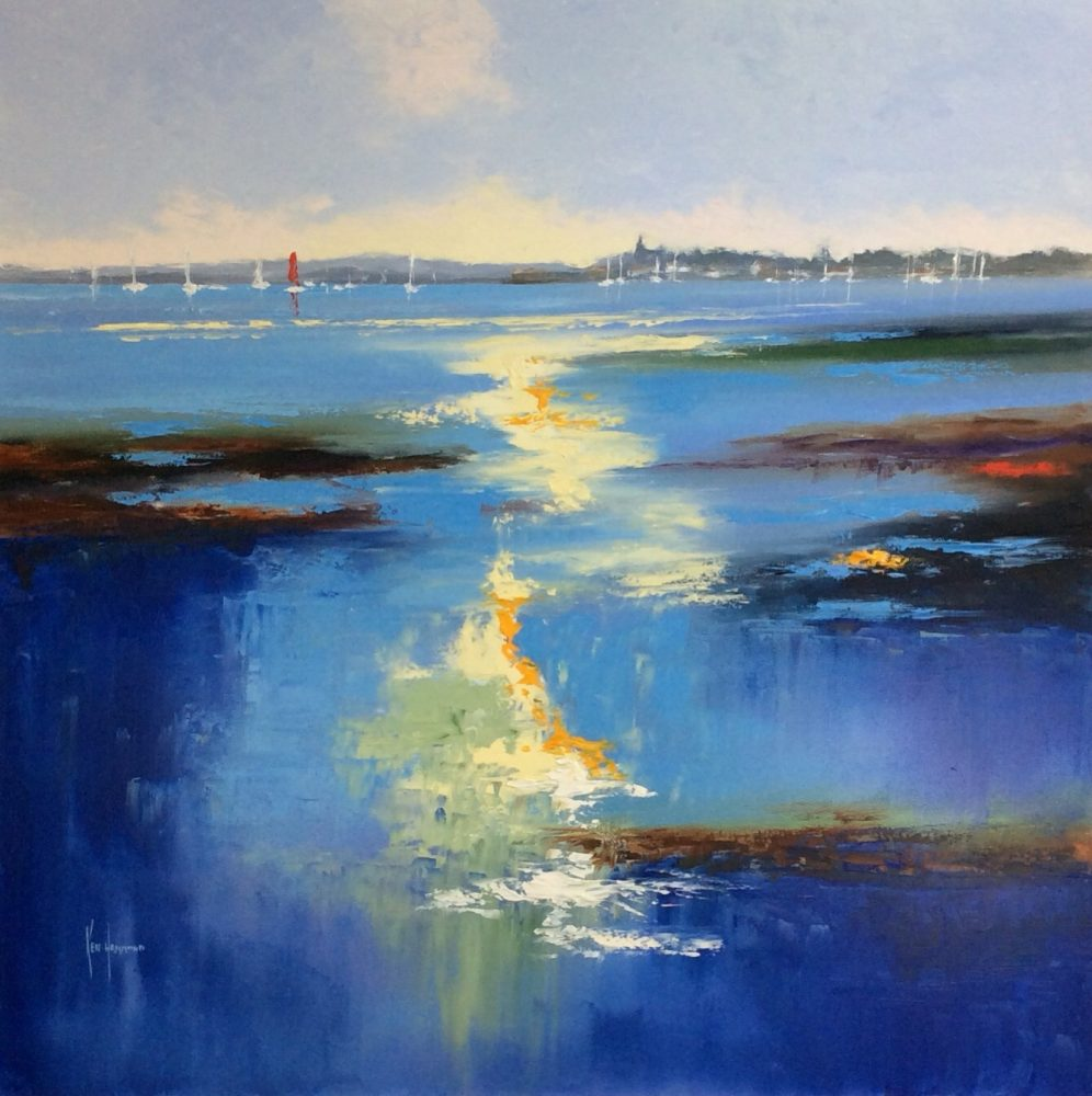 Artwork of Chichetser Harbour by Ken Hammond