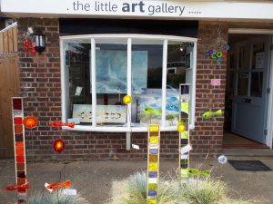 The front of the The Little Art Gallery in Chichester