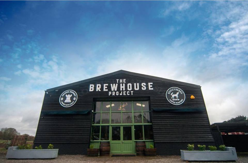 Front of The brewhouse project in Arundel