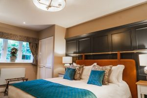 A bedroom at The Highdown hotel