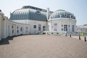 The outside of Worthing Pavilion Theatre
