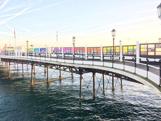 Creative Waves Art Gallery on Worthing Pier
