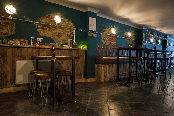 Inside The Old Bike Store, Worthing's craft beer bar