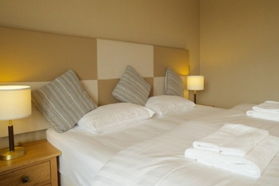 Large bedroom at The Seal in Selsey, West Sussex