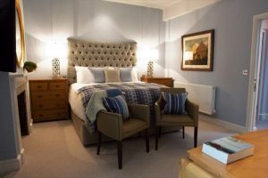 Luxury guestroom at The White Horse Inn