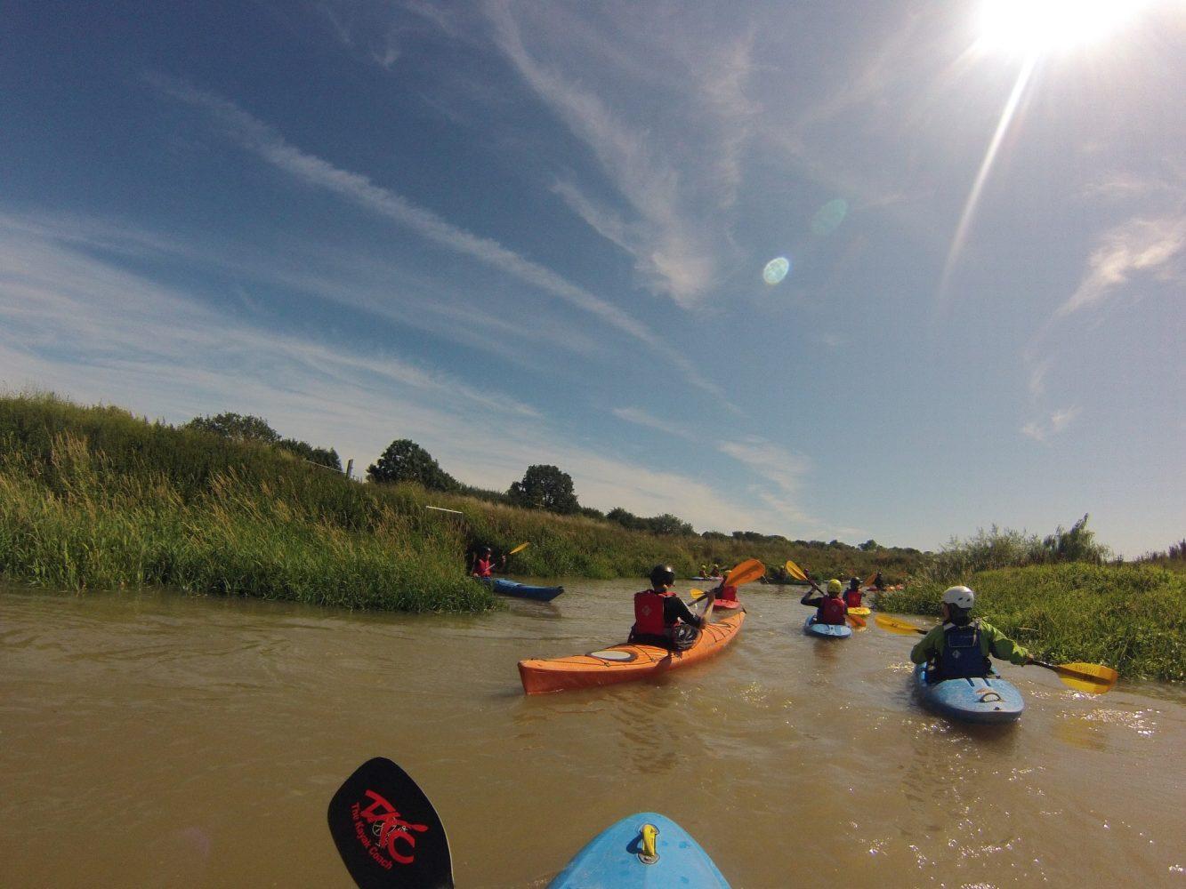 Kayak along the River Adur