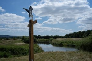 The new WildArt Trail in Pulborough is an enchanting trail of sculptures and digital wildlife through the countryside in West Sussex