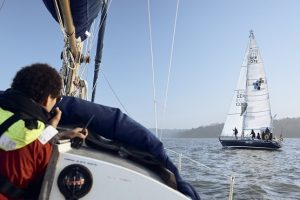 Learning how to sail with The Sail Boat Project