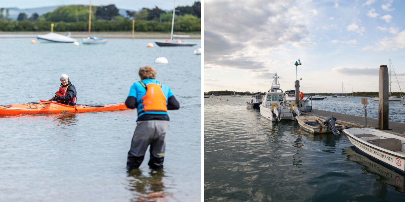 Kayaking and sea tours of Chichester Harbour