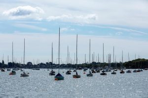Sailing boats at Chichester Harbour